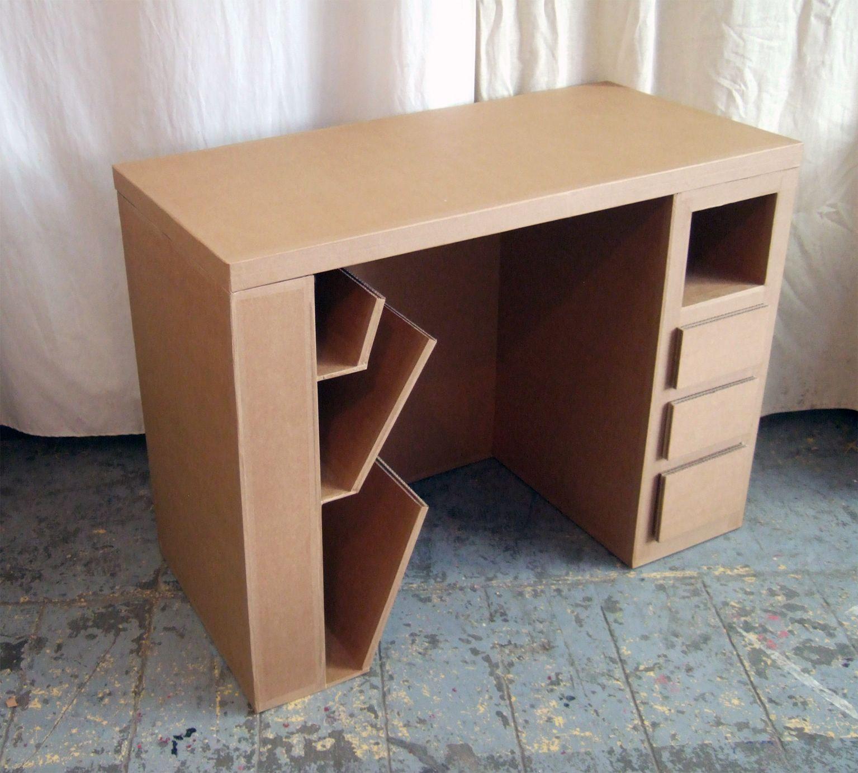 Image De Meuble En Carton bureau+brut (1535×1381) | meuble en carton, mobilier en