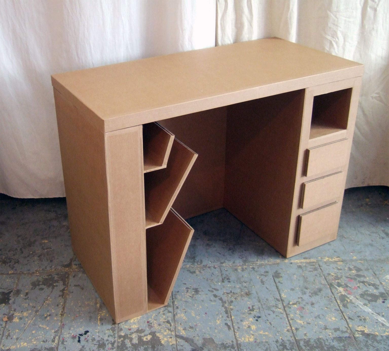 Bureau Brut Jpg 1535 1381 Cardboard Furniture Diy Storage Furniture Diy Cardboard Furniture