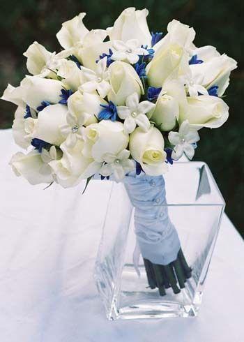 Rose small white wedding flowerssp love the little splash of rose small white wedding flowerssp love the little splash of blue mightylinksfo