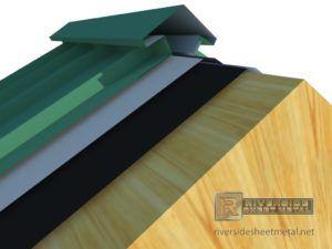 Venting Metal Roof Ridge Caps Ridge Cap Metal Roof Roof Cap