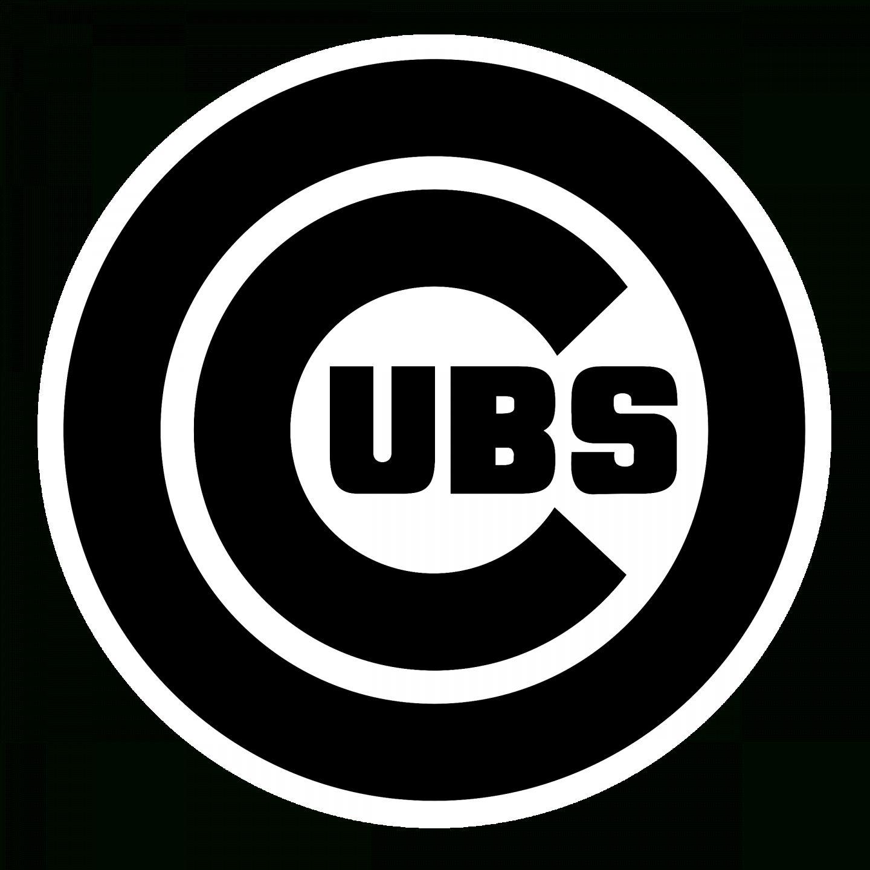 18 Cubs Logo Vector Png Black Nd White Vector Logo Logo Icons Logos