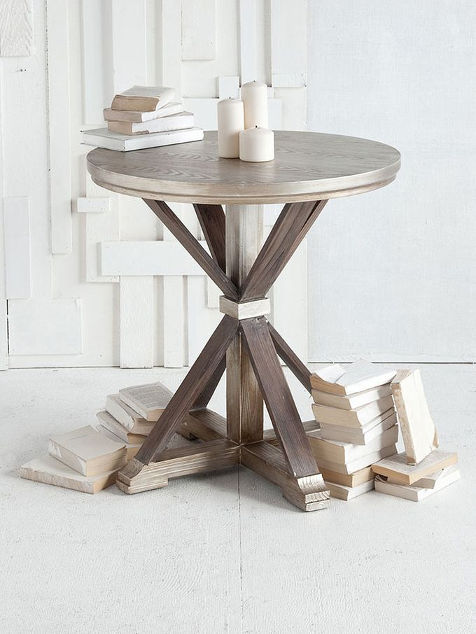 Side Table From Refined Rustic: Furniture