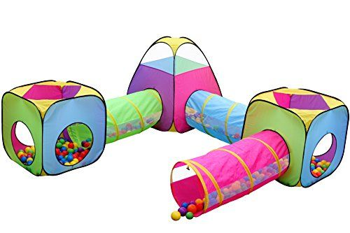 Kids 6pc Play Tent and Tunnel Toy Jungle Indoor u0026 Outdoor Child Pop up Tent  sc 1 st  Pinterest & Kids 6pc Play Tent and Tunnel Toy Jungle Indoor u0026 Outdoor Child ...