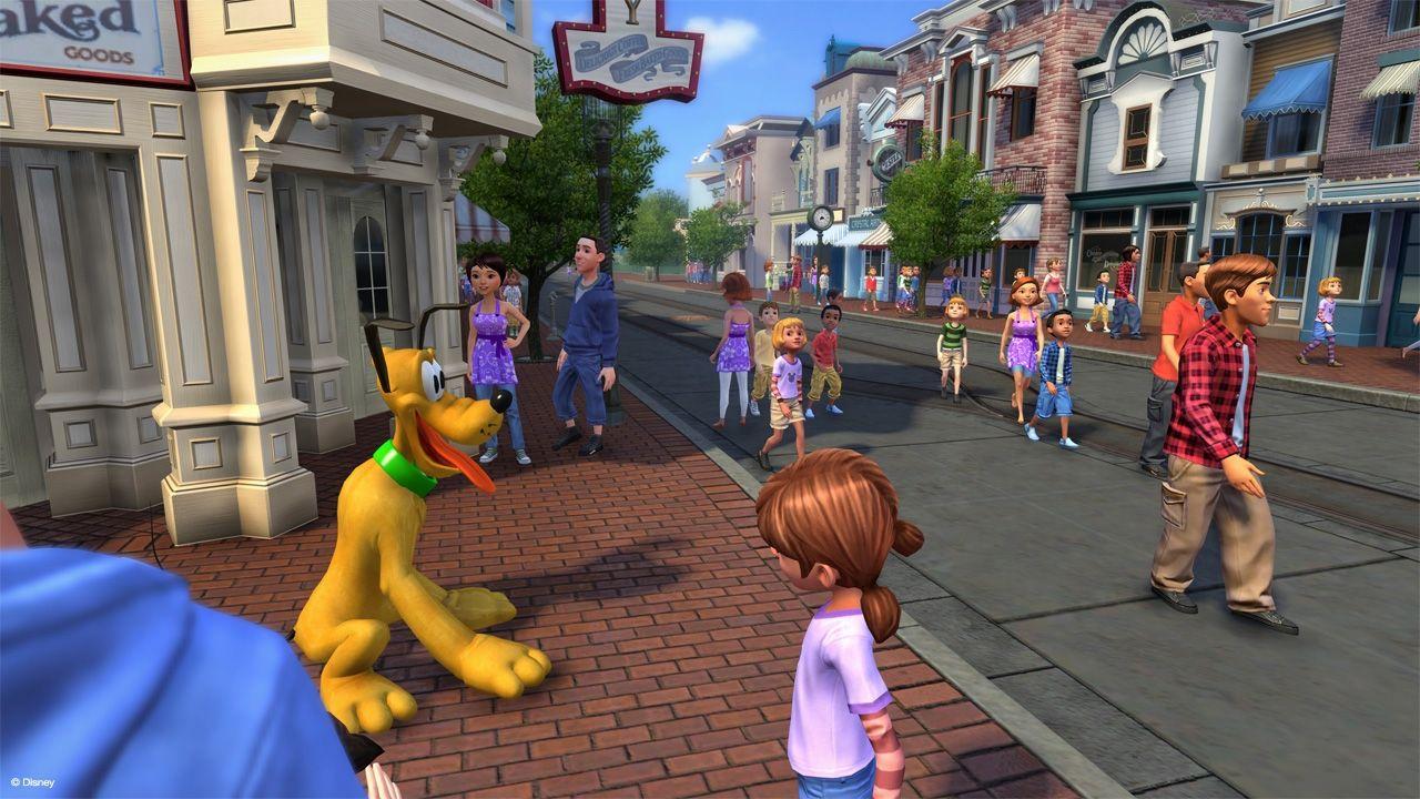 Pluto On Main Street Disneyland Adventures Kinect Xbox Kinect Xbox 360