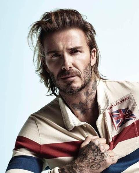 David Beckham Long Hairstyle David Beckham Long Hair David Beckham Hairstyle David Beckham Haircut