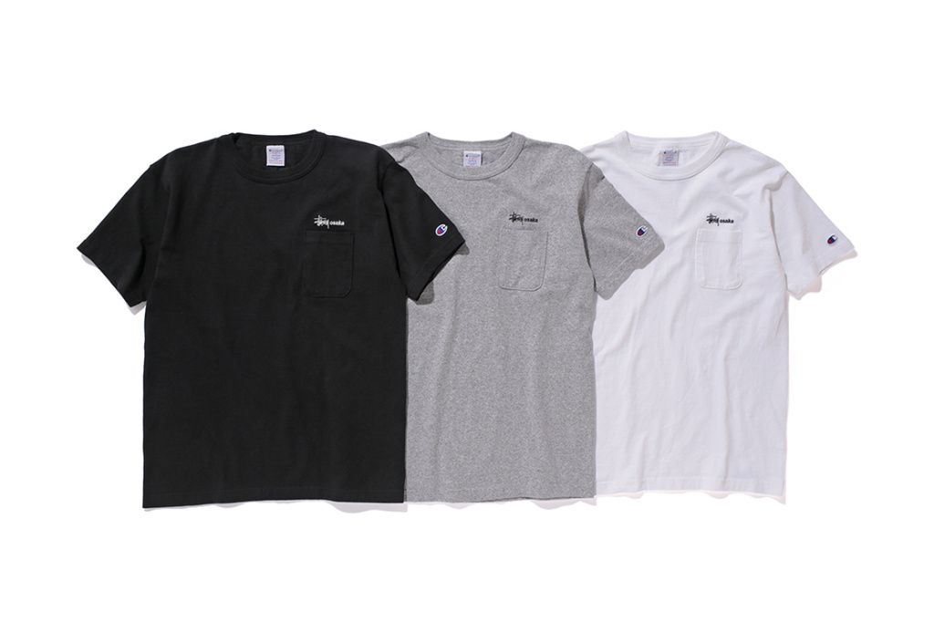 caf3a3334ef9 Stussy & Champion Drop More 2016 Spring/Summer Tees | ARTH reference ...