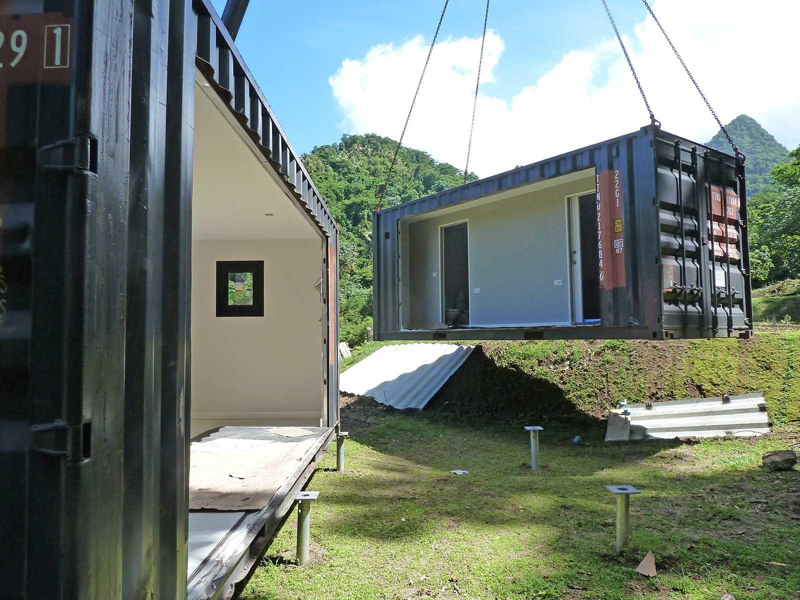 Resultado de imagen de casas en contenedores marinos for Arquitectura contenedores maritimos