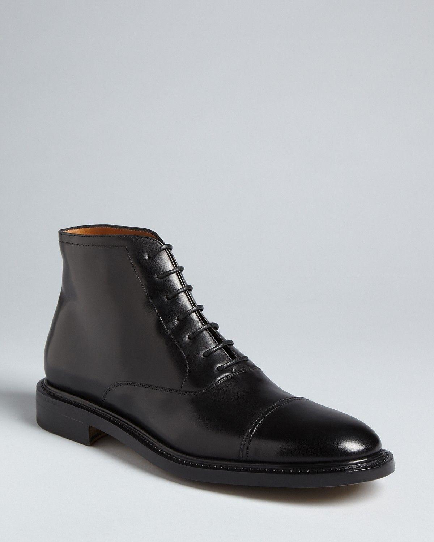 Salvatore Ferragamo Azelio Dress Boots
