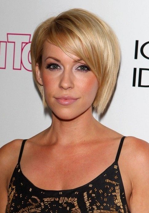 shoulder length hairstyles for round faces 2014