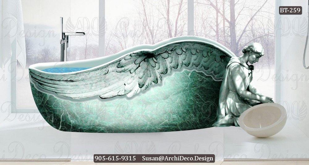 Pin By Monumentsusa On Angel Bathtub Marble Bathtub Bathtub Stone