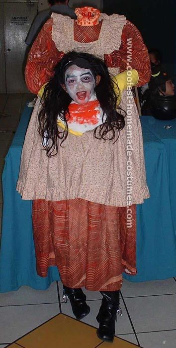 Coolest Homemade Scary Halloween Costume Ideas Halloween Ideas - scary homemade halloween costume ideas