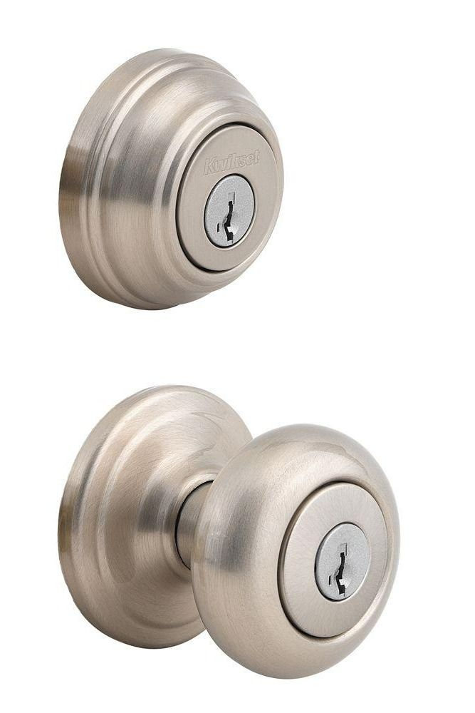 Beautiful Entry Door Knob and Deadbolt
