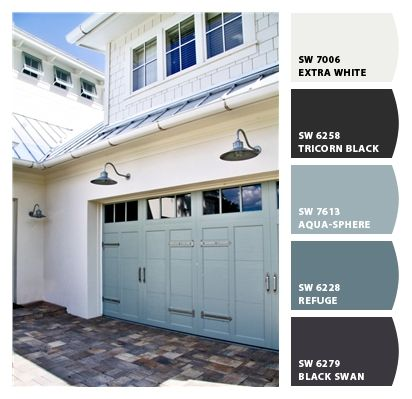 Paint Colors From Chip It By Sherwin Williams House Exterior Garage Door Colors New Homes