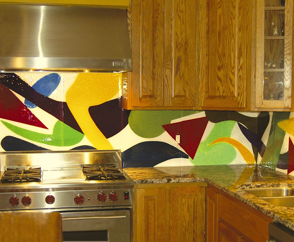 Fused glass wall panels by FK Art Glass Minneapolis | Fused glass ...