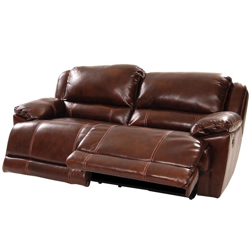 Tovaris Leather Reclining Sofa Leather Sofa Old World Style
