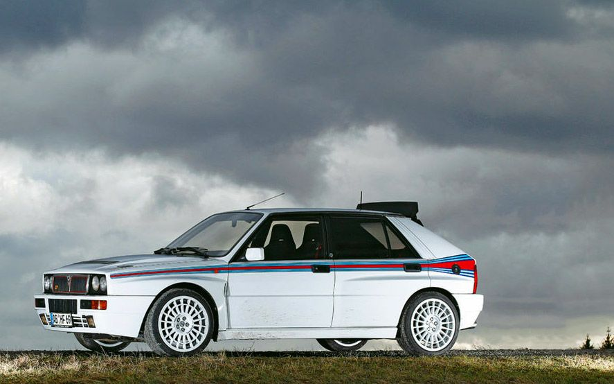 Lancia Delta HF Integrale - Always loved this car. Drove one once. Amazing.