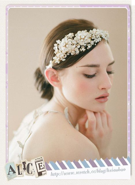 [花嫁] 令人驚艷 ♥ 17款古典浪漫蕾絲新娘頭飾 @ 半生不熟蘋果誌 @pixnet :: 痞客邦 PIXNET ::