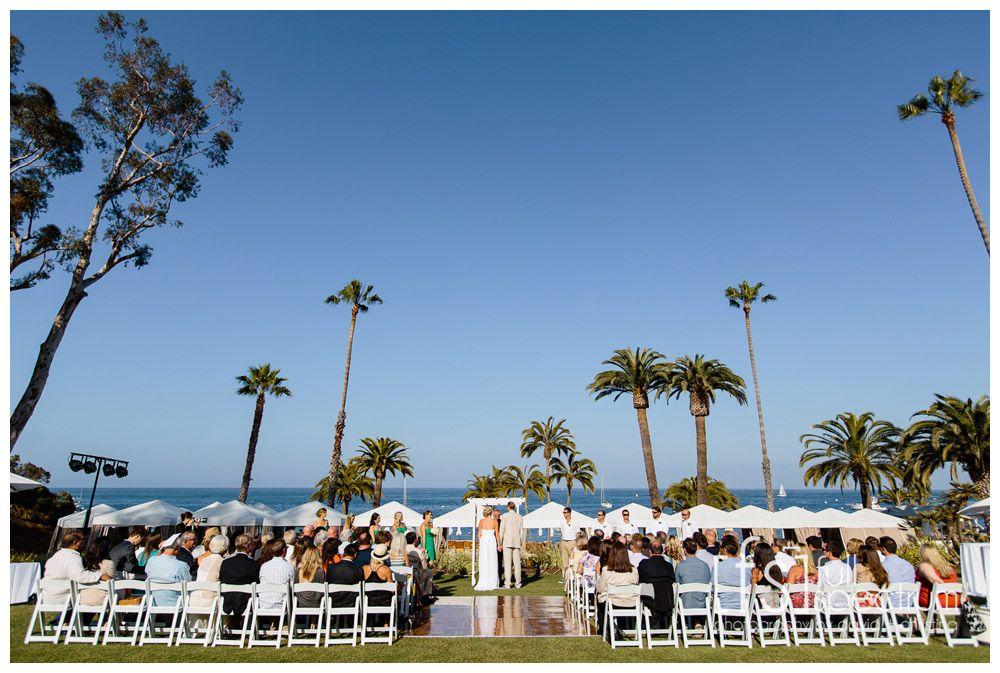 Darcy and Brad Descanso Beach Club Wedding Catalina