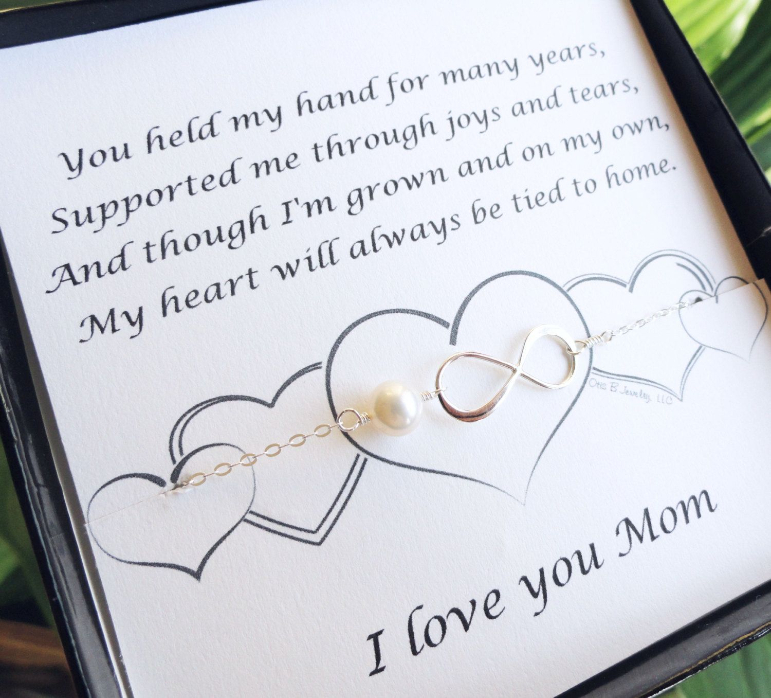 law daughter gift jewelry bracelet for in on attractive mother day wedding