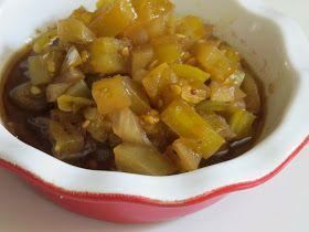 Edible Moments: Green Tomato Relish