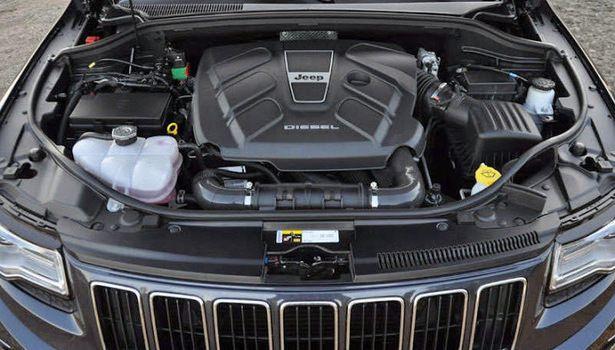 2016 Jeep Grand Cherokee   Engine