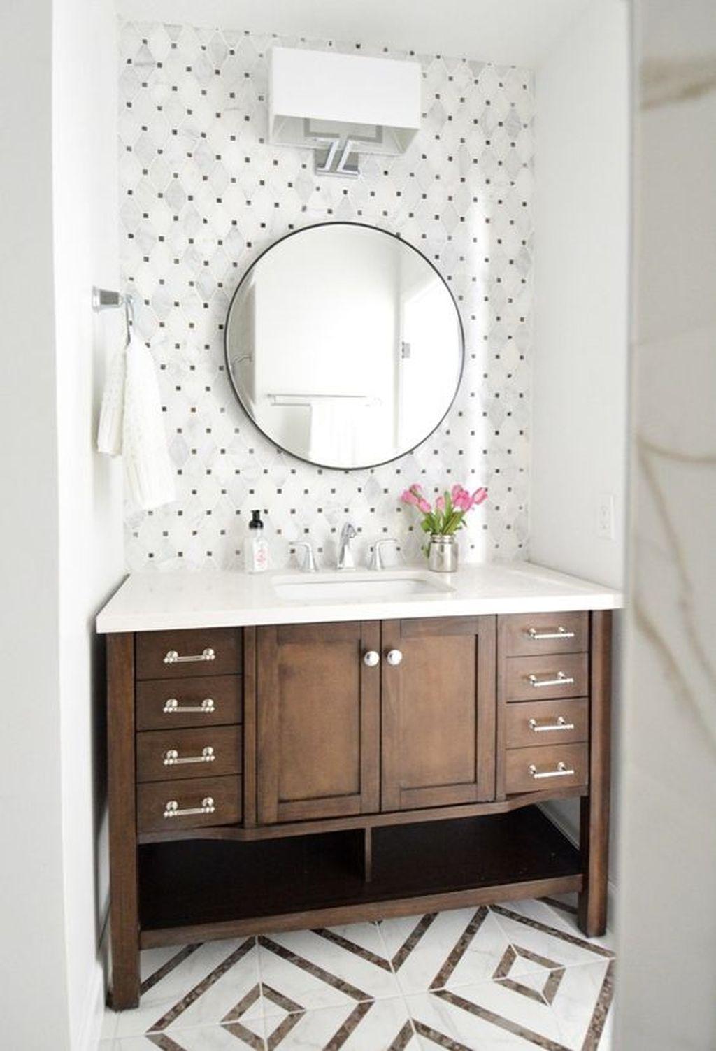 awesome 64 Inspiring Rustic Bathroom Vanity Remodel Ideas https ...