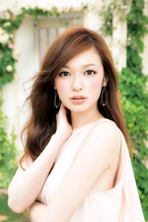 ☆美人モデル♡森絵梨佳ちゃんのヘアスタイルがかわいい☆の画像