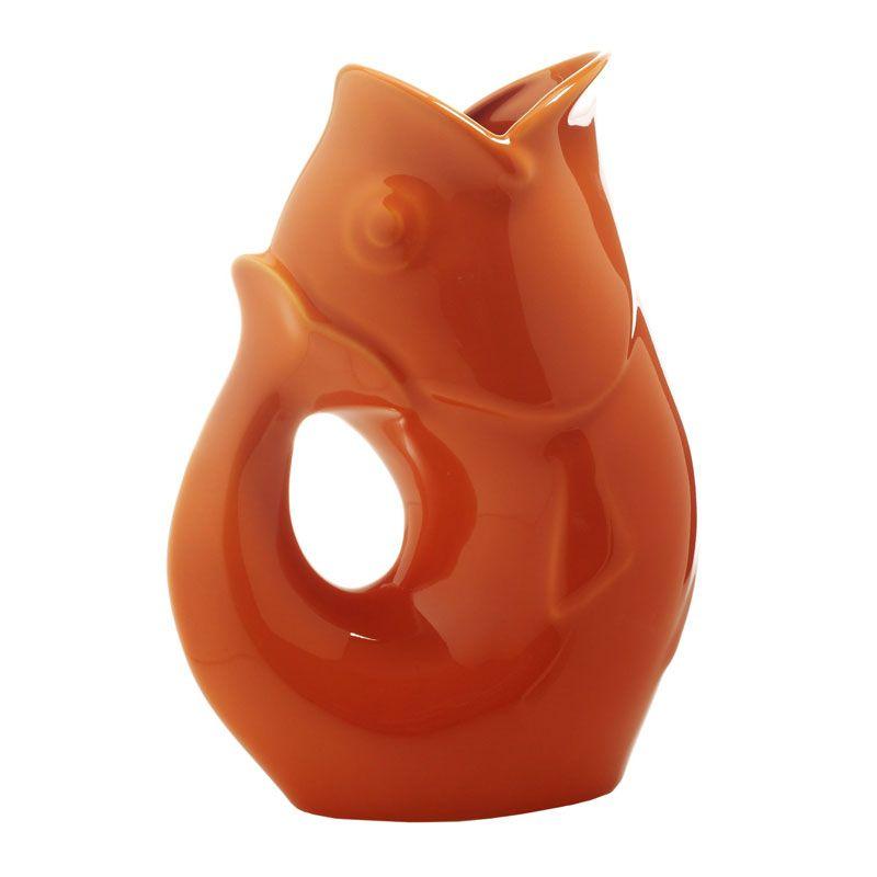 Gurgle Pot in Tangerine