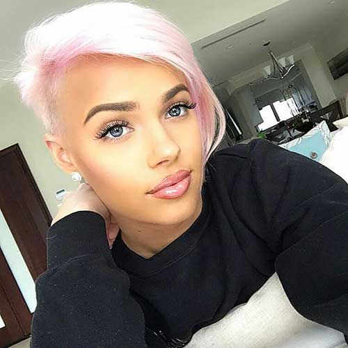 Totally Adorable Pink Colored Short Hairstyles We Love in 2018 ...