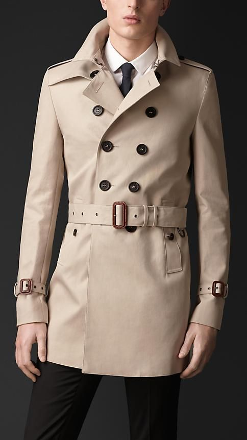 Trench Coats for Men   Burberry®   Stuff I want   Pinterest ... 8e42cfc20633