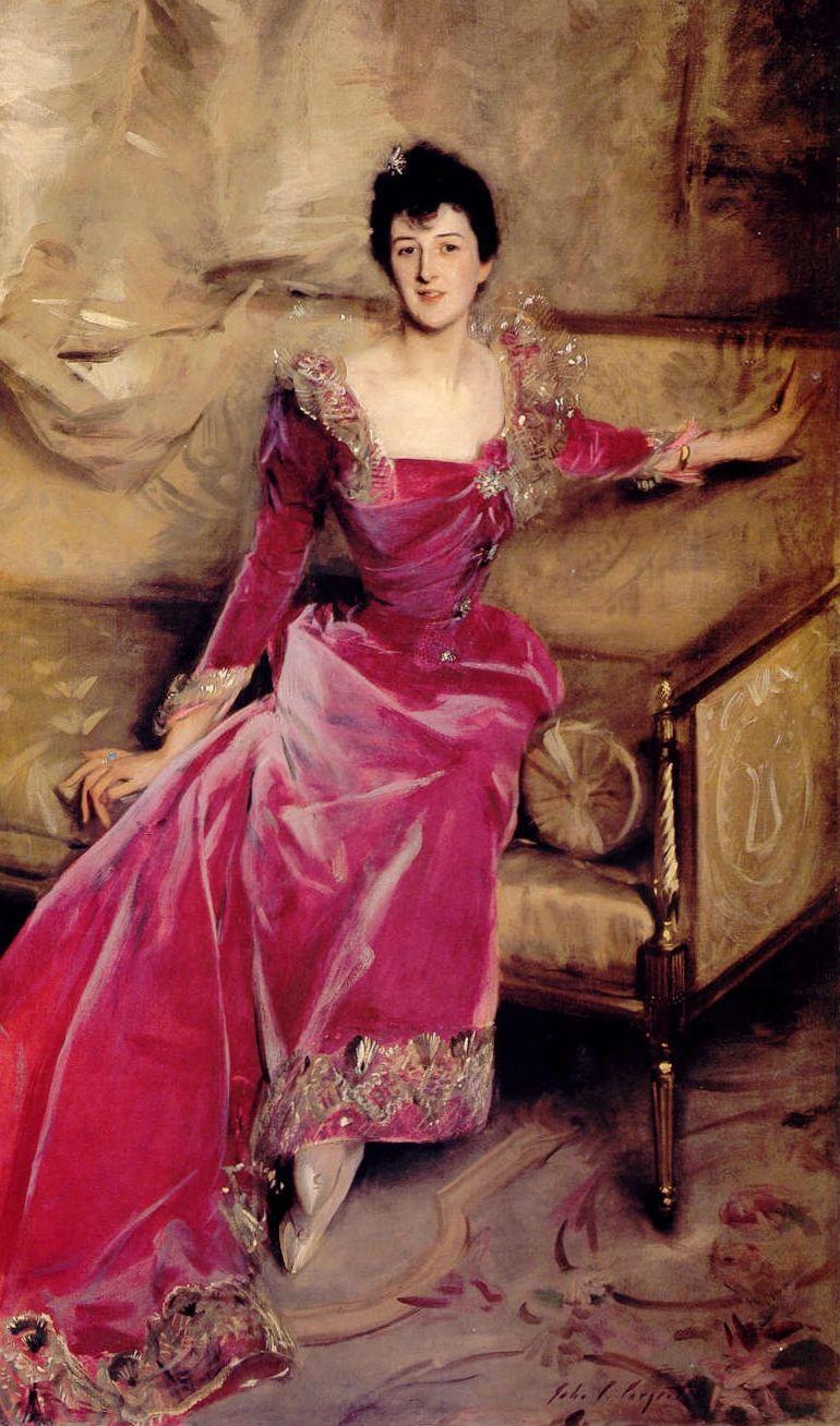 Mrs Hugh Hammersley by John Singer Sargent, 1892-93. Oil on canvas.