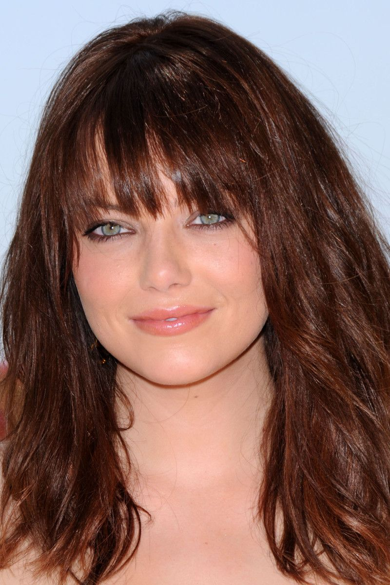 Emma Stone Before And After Bangs Pinterest Emma Stone