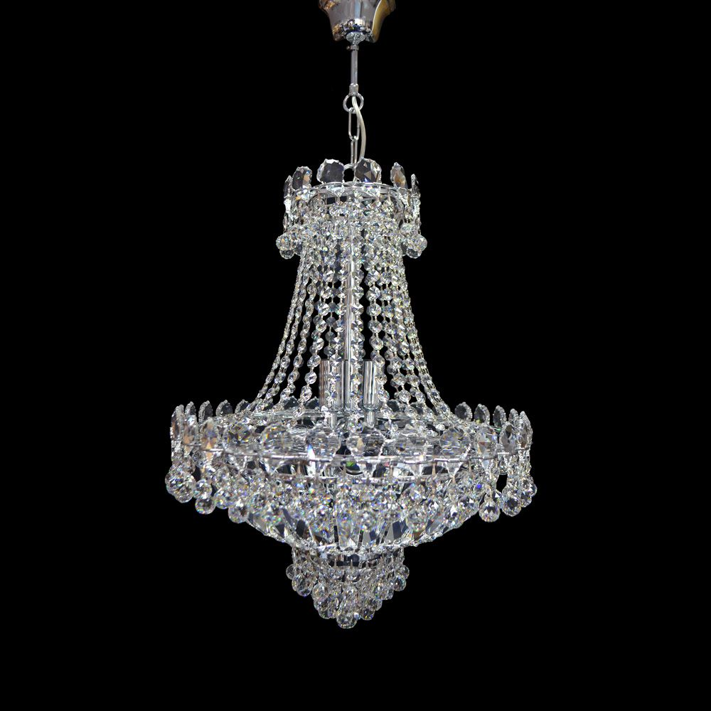 Pin by good furniture on chandelier pinterest chandeliers costco uk swarovski crystal pear basket empire chandelier in chrome arubaitofo Images
