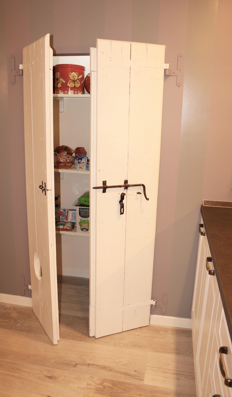 Creare una dispensa in cucina e chiuderla con una vecchia - Creare una cucina ...