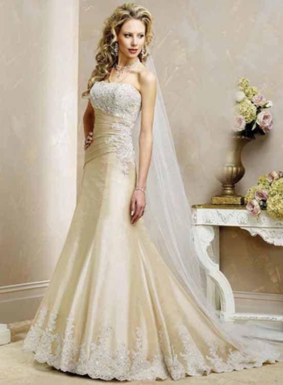 Modern Vintage Wedding Dresses - Ocodea.com