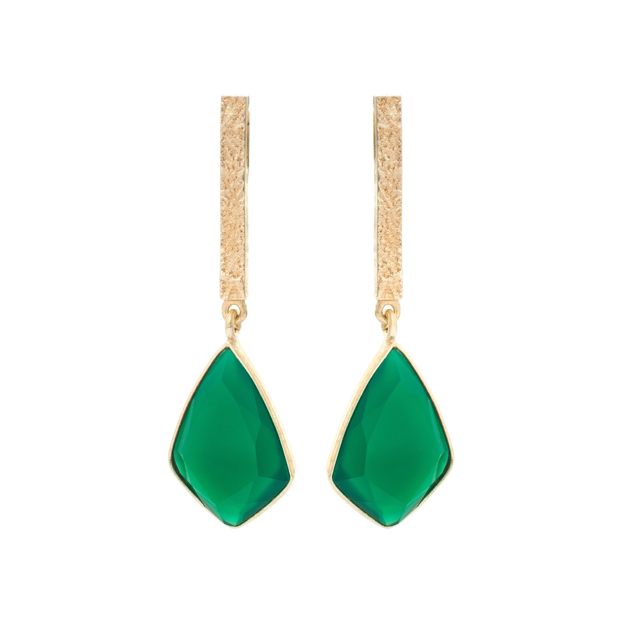 Buy the Sidra Long Stone & Tab Drop Earrings at Oliver Bonas. Enjoy ...