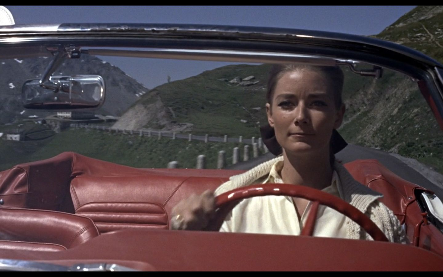Tania Mallet As Tilly Masterson - Goldfinger