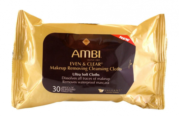 Ambi Even & Clear Makeup Removing Cloths, 30 Count