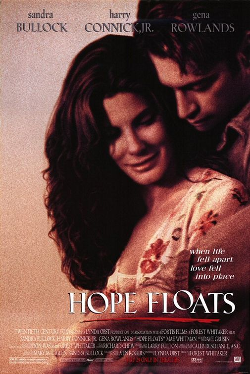 Hope Floats - First Sandra Bullock movie that I ever bought and still one of my all-time favourites. A woman finds her husband cheating, leaves him and goes back to her home town. This is a story about all aspects of love: love for family, loving yourself and finding love. #HopeFloats