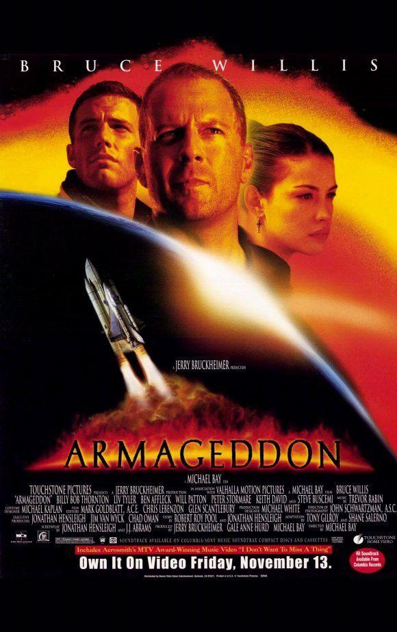 Armageddon 22x35 Movie Poster 1998 Armageddon Movie Good