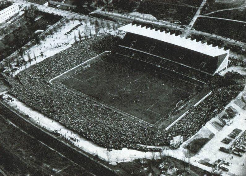 st. Jakob stadion Fc Basel  1954