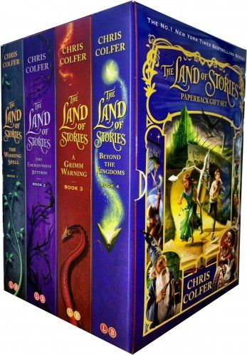 Land of stories chirs colfer collection 4 books box set https explore book boxes chris colfer and more fandeluxe Choice Image