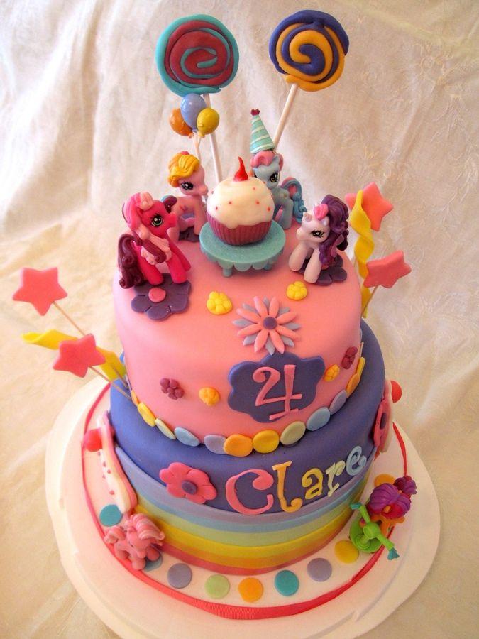 my little pony cake — children's birthday cakes  little