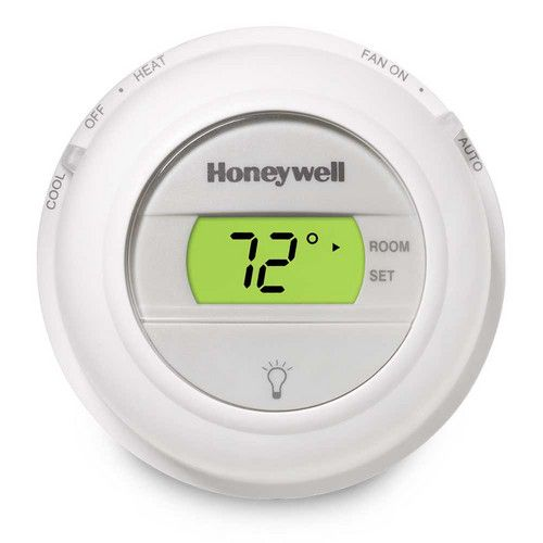Honeywell Digital T8775a1009 Round Non Programmable Heat Only Sheridansupply Digital Thermostat Programmable Thermostat Thermostat