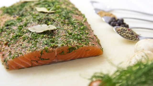 """Photo of """"Graved Salmon"""": Pickling salmon for beginners: Simple reason …"""