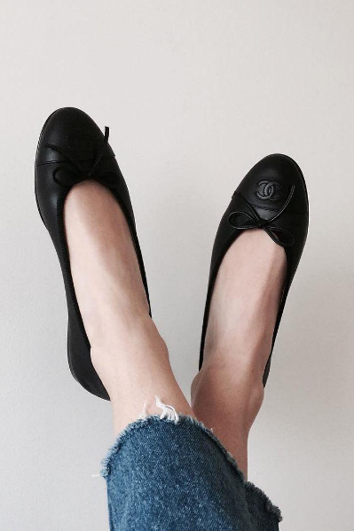 Rose town Womens Slip On Ballet Flats Ballerina Comfort Shoes