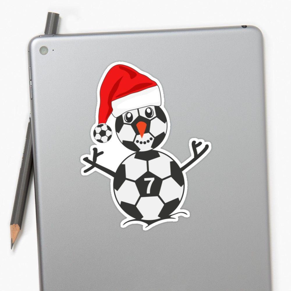 Sticker Trikot Schneemann Weihnachtsmann Nikolaus