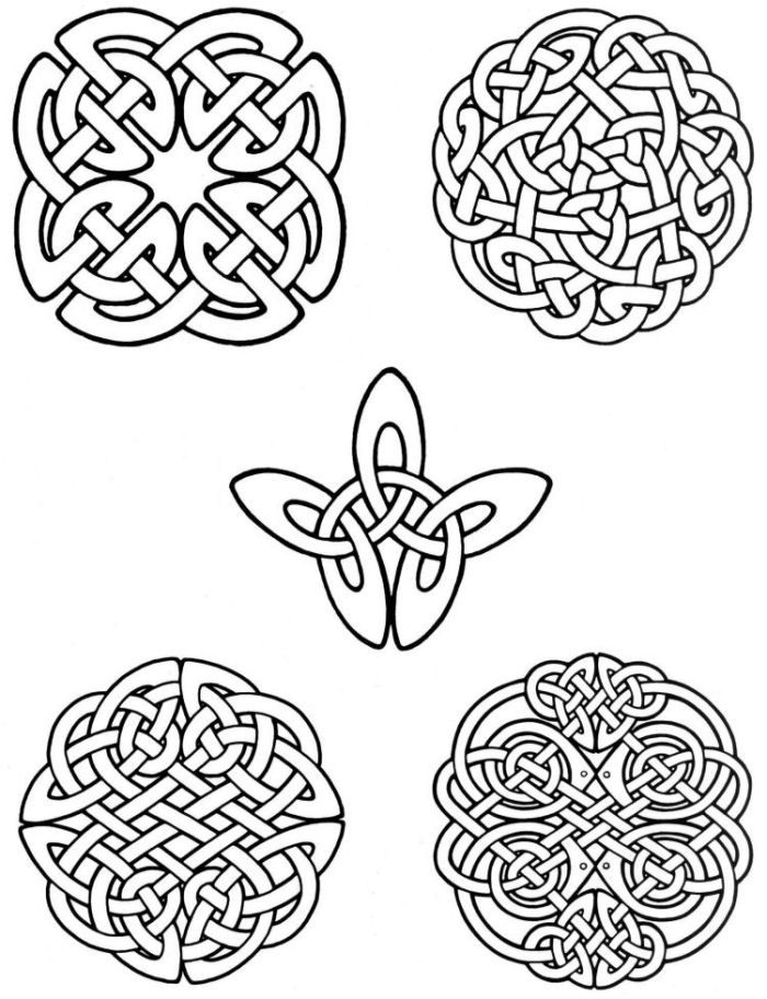 free celtic symbols coloring pages | free celtic coloring pages - Google Search | celtic ...