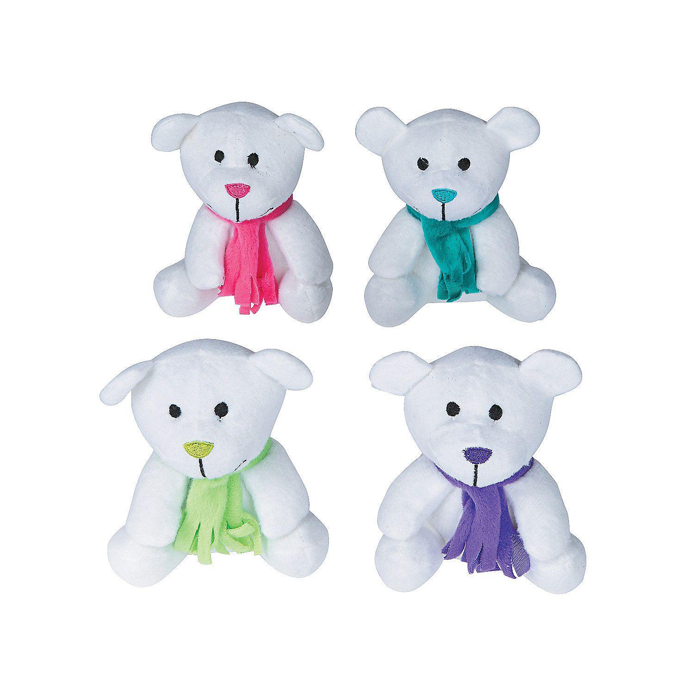 Bright Holiday Stuffed Bears Oriental trading, Bear, Plush