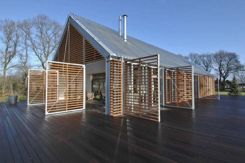 Barn House Eelde por los arquitectos Kwint (1)